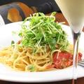 料理メニュー写真セミドライトマトのジェノベーゼ