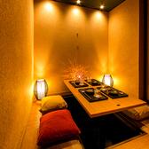 新橋駅から徒歩1分の好立地!2名様からご利用可能な完全個室を完備しております!プライベート空間でごゆっくりとお食事を愉しみたい方にピッタリです◎
