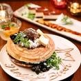【誕生日・記念日】サプライズ『デザートプレート』プレゼント♪