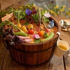 『収穫』バーニャカウダ