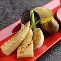 料理メニュー写真旬焼き野菜盛り合わせ