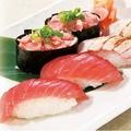 料理メニュー写真まぐろ三昧にぎり寿司