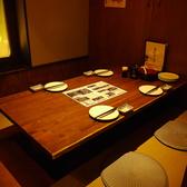 3名~座れる個室もご用意。ゆったりと食事を楽しみたい方、会社の宴会など、、間仕切りも取り外し可能なので、最大15名様まで座れます。