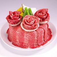 サプライズにおすすめ♪【予約限定】 お祝い肉ケーキ!