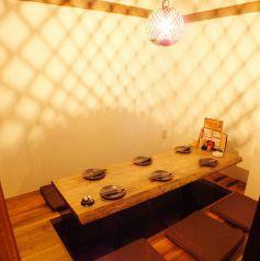6名様までOK♪照明にもこだわって雰囲気◎です。個室をご希望の場合は、事前のご予約をおすすめ致します☆