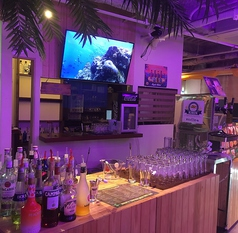 Tropical Beer Hall ドリンクカウンター