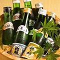 料理メニュー写真日本酒飲みきりミニボトル