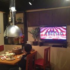 お子様連れでも、落ち着いてお食事をされたいお客様!テレビ、DVDがありますので是非ご利用ください!たまには息抜きしなくっちゃ!