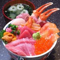 極上の魚介類