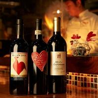 本物の焼鳥に合うボトルワイン1990円より豊富にご用意♪