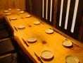各種宴会に最適な個室は大人気なので、ご予約はお早目に♪