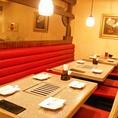 テーブル ~8名