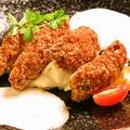 料理メニュー写真YUMMYの大粒牡蠣フライ~兵庫県室津産~2ピース