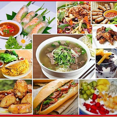 【予約・週末限定】ベトナム料理バイキング2H