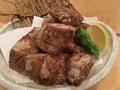 料理メニュー写真カジキマグロの竜田揚げ みぞれあん