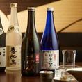 新鮮鮮魚と会う日本酒を多数ご用意しております