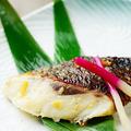 料理メニュー写真カンパチのカマ焼/黒むつ西京焼