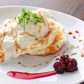 料理メニュー写真季節限定パンケーキ
