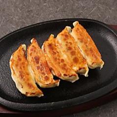 料理メニュー写真鉄板焼き餃子