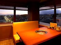 デートや記念日も【京都の夜景を一望】席・個室あり♪