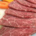 料理メニュー写真特上カルビ(黒毛和牛・牝・特選肉)