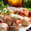 料理メニュー写真とろ~りトマトチーズ