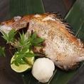 季節に合わせた脂の乗った焼き魚をこだわりの炭火焼きで焼いております。