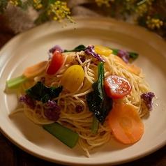 神戸野菜のペペロンチーノ