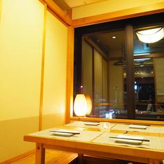 夜景の見えるお部屋です☆メイプル通りビルの最上階なので、すすきのの夜景をご覧いただけます。夜景の見えるお席は限られていますので、ご希望の場合はお早めにご予約を!【すすきの・個室・居酒屋・夜景・デート・宴会】