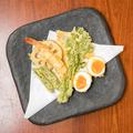 料理メニュー写真天ぷら盛り合わせ(魚介、旬菜)5点、7点