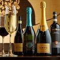 日本酒、ワインと季節感あふれる旬の旨酒、食中酒に最適なラインナップを厳選しております。
