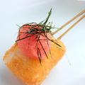 料理メニュー写真餅の明太ソース