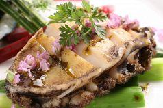 料理メニュー写真積丹産蝦夷あわびのステーキ