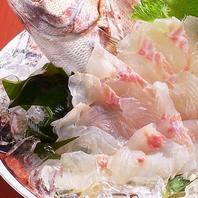 新鮮な魚介を鮮度そのままでご提供