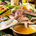 料理メニュー写真田町 三田 居酒屋◆名物 濃厚鮮魚出汁のしゃぶしゃぶは必食の逸品!!飲み放題付き宴会プランは豊富にご用意!