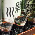 お寿司と日本酒の相性はピッタリです!お寿司に会う日本酒を取り揃えておりますので、料理に合わせる時は、ご相談ください!!