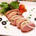 料理メニュー写真紅茶鴨のスモーク