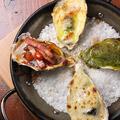 料理メニュー写真焼き牡蠣全4種盛合せ