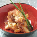 料理メニュー写真ポテトサラダ塩辛和え