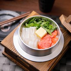 イカ明太バターの釜飯