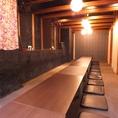 最大45名様までご案内可能なお座敷個室は各種会社宴会にもご好評頂いております!