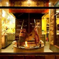 【日本初】専用炉で焼き上げる豪快ブロック肉