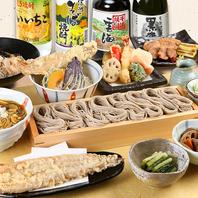 越後の郷土料理とそば屋の定番料理を季節の食材とともに