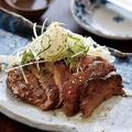 料理メニュー写真【仙台】 厚切り牛タン炙り