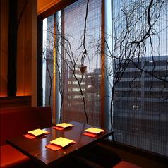 【完全個室】お洒落なカーテンからは札幌の街並みが◎