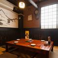 【6名様お座敷個室】鳥吉吾妻店自慢の完全個室です★ふすまで完全に仕切られれているので、のんびり、まったり、ご宴会を楽しめます♪人気のお席ですのでご予約はお早めに♪
