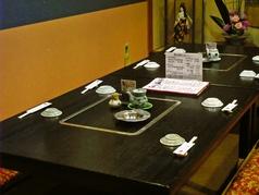 個室やお座敷等色々なタイプの宴会が可能。