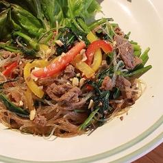 料理メニュー写真牛肉の空芯菜炒め