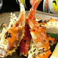 料理メニュー写真焼タラバ蟹