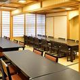 少人数の個室利用もお気軽にお問い合わせください。接待や会社宴会に人気のお席です。